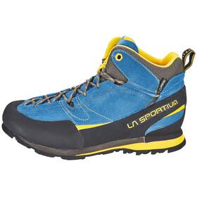 La Sportiva Boulder X Mid - Chaussures Homme - gris/bleu